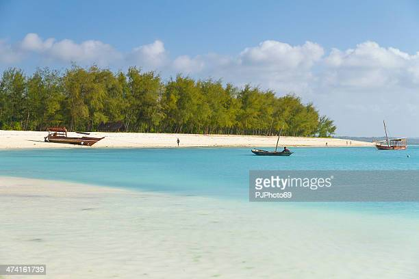 kendwa beach in zanzibar - pjphoto69 stock pictures, royalty-free photos & images