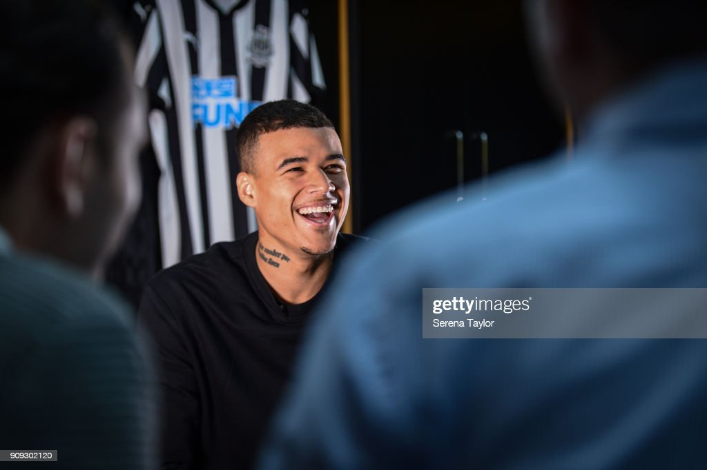 Newcastle United Unveil New Loan Signing Kenedy : News Photo