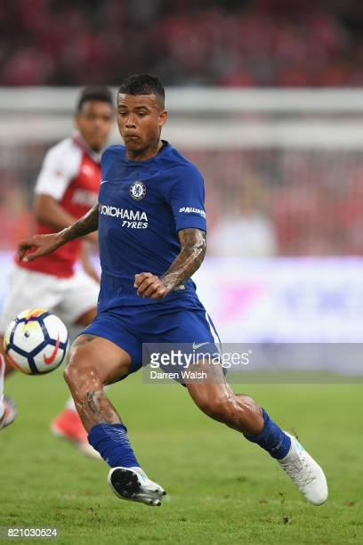 Kenedy of Chelsea during a friendly match between Chelsea and Arsenal at Birds Nest on July 22 2017 in Beijing China