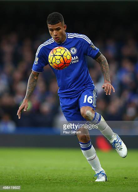 Kenedy of Chelsea in action during the Barclays Premier League match between Chelsea and Norwich City at Stamford Bridge on November 21 2015 in...
