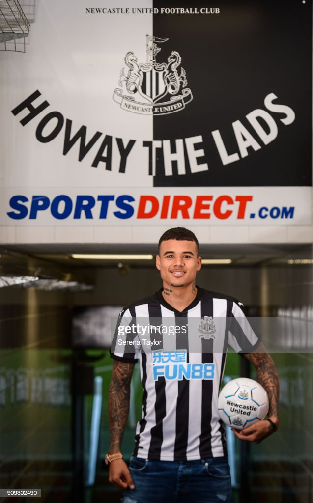 Newcastle United Unveil New Loan Signing Kenedy