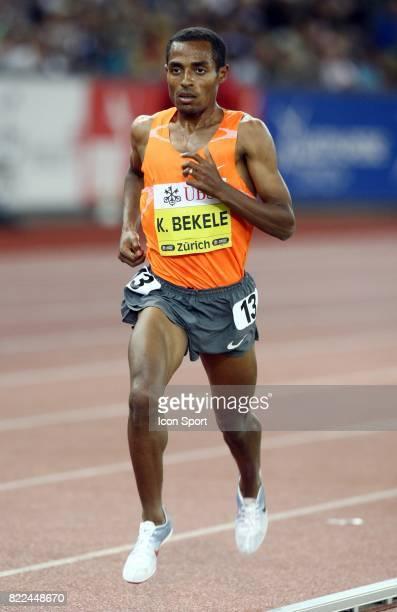 Kenenisa Bekele 5000m Golden League Meeting de Zurich