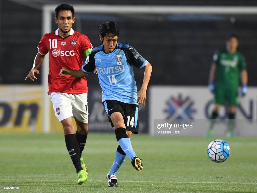 Kawasaki Frontale v Muangthong United - AFC Champions League Round Of 16 : ニュース写真