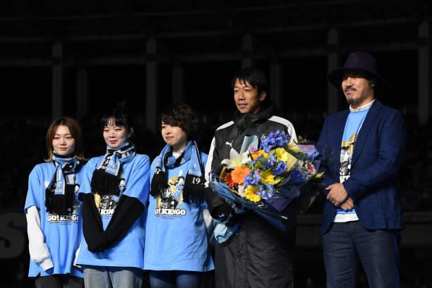 JPN: Kawasaki Frontale Kengo Nakamura Retirement & J1 Champions Celebration Ceremony