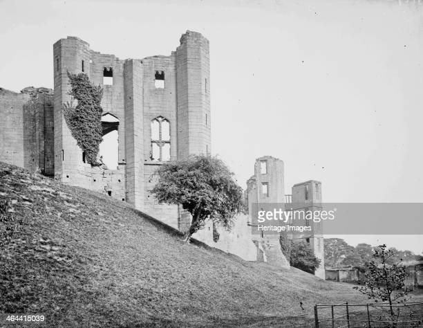 Kenilworth Castle Kenilworth Warwickshire c1860c1922 The Saintlowe Tower was added to Kenilworth Castle in the 14th century for John of Gaunt to...