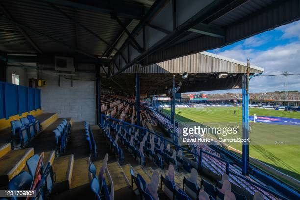 Kenilworth Road - home of Luton FC - ground view during the Sky Bet Championship match between Luton Town and Swansea City at Kenilworth Road on...