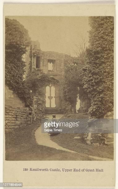 Kenilworth, Upper End of Great Hall; Francis Bedford ; 1862 - 1865; Albumen silver print.
