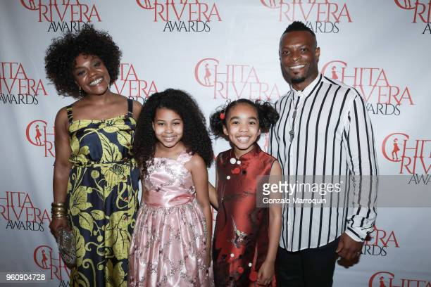 Kenita R Miller and her family during the The 2nd Annual Chita Rivera Awards Honoring Carmen De Lavallade John Kander And Harold Prince at NYU...