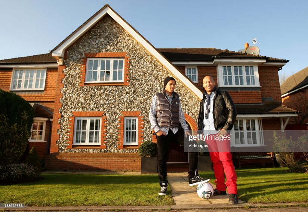 Kenji Gorre (L),Dean Gorre (R) during a photo shoot on January 15, 2012 in Bowden Cheshire, England.