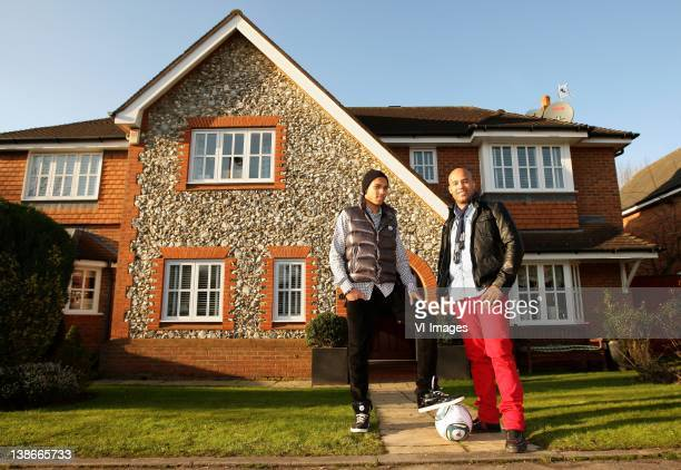Kenji Gorre Dean Gorre during a photo shoot on January 15 2012 in Bowden Cheshire England
