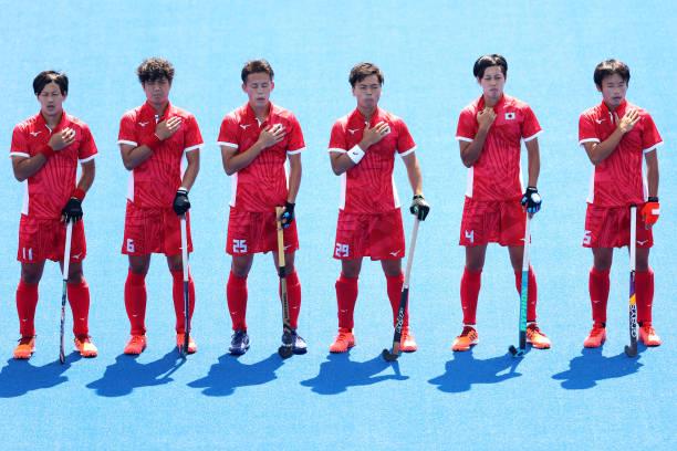JPN: Hockey - Olympics: Day 1