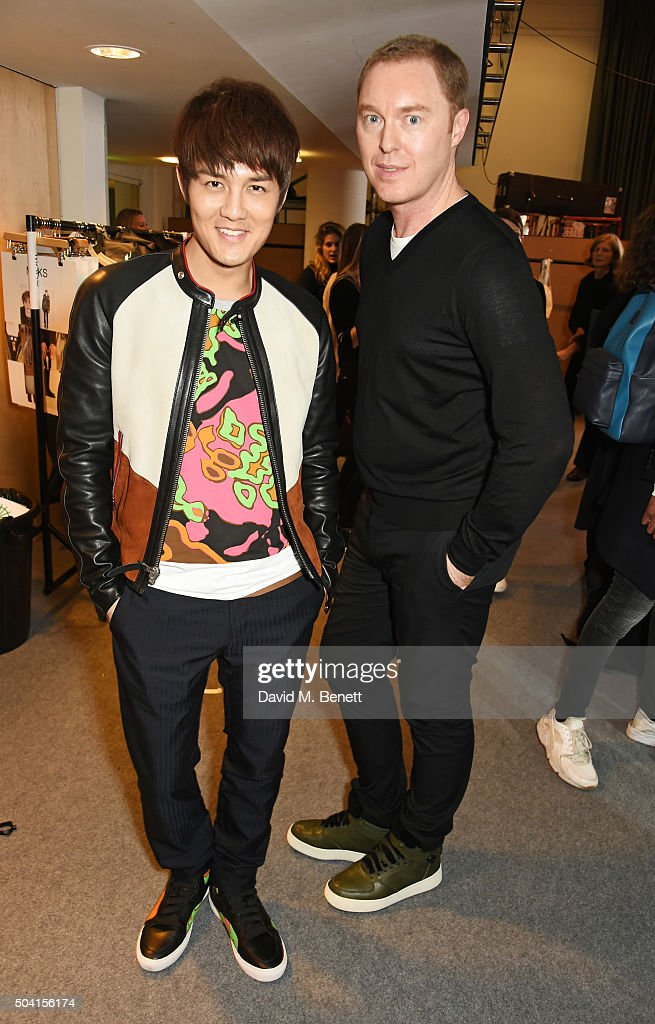 Coach FW16 show during London Collections: Men at Lindley Hall - Front Row