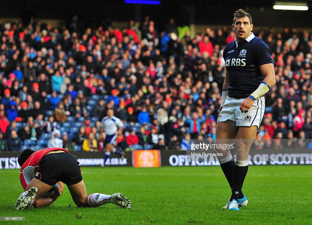 Scotland v Japan - International Match : News Photo