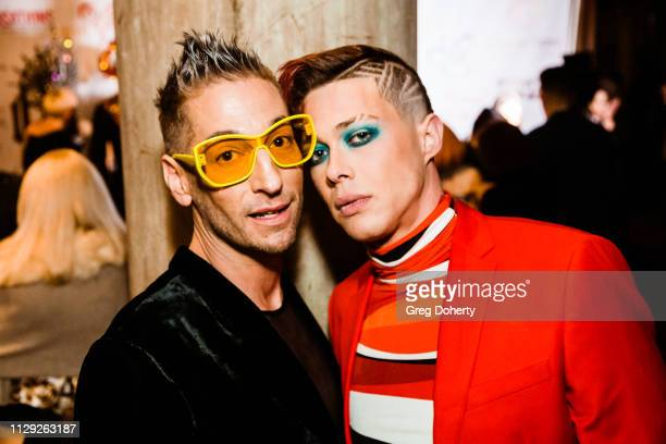 Kenn Gray and Korrie Hayes at Sanctuary Fashion Week on March 7 2019 in Los Angeles California