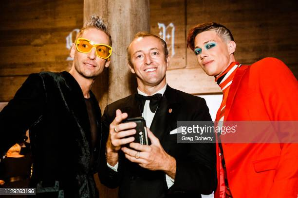 Kenn Gray Prince MarioMax and Korrie Hayes at Sanctuary Fashion Week on March 7 2019 in Los Angeles California