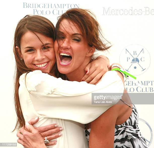 Kenna Conway and Janice Dickinson during Brooke Shields Hosts Opening Day of the 2006 Mercedes-Benz Polo Challenge at the Bridgehampton Polo Club at...