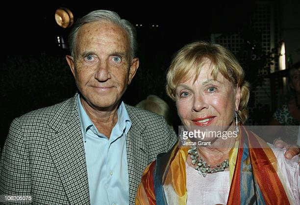 Kenne Fant and Bibi Andersson during 2007 Cannes Film Festival Scandinavian Film Reception in Cannes France
