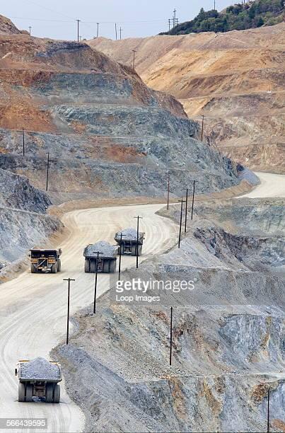 Kennecott Copper Mine near Salt Lake City in Utah