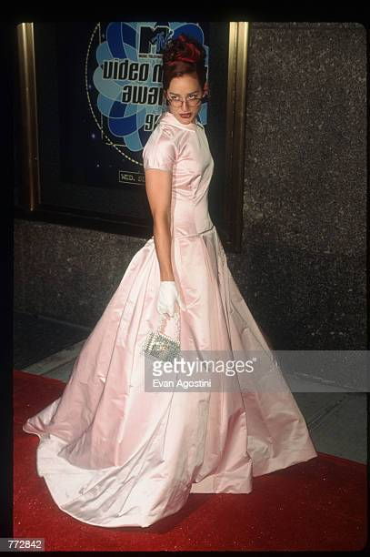 Kennedy attends the MTV Video Music Awards September 4 1996 in New York City The awards honored music videos produced by popular artists such as...
