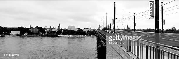 Kennedy Bridge and the Rhine