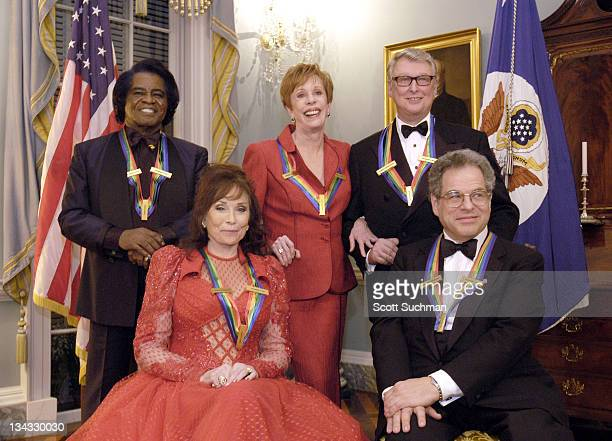 Kennedy Center 2003 Honorees James Brown Loretta Lynn Carol Burnett Mike Nichols and Itzhak Perlman