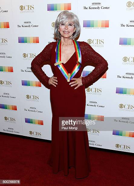 Kennedy Center honoree actress and singer Rita Moreno attends the 38th Annual Kennedy Center Honors Gala at John F Kennedy Center for the Performing...