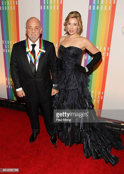 Kennedy Center Honoree Billy Joel And Alexis Roderick Attend The 36th Honors Gala