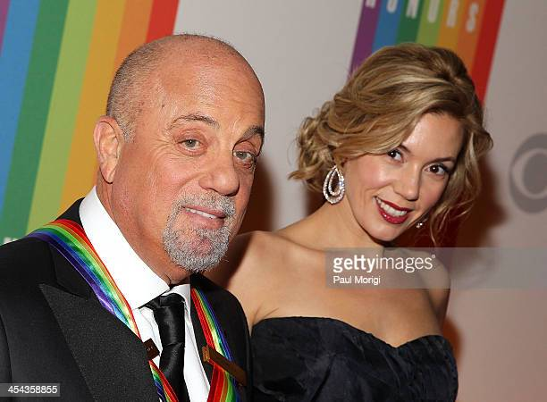 Kennedy Center Honoree Billy Joel and Alexis Roderick attend the The 36th Kennedy Center Honors gala at The Kennedy Center on December 8 2013 in...