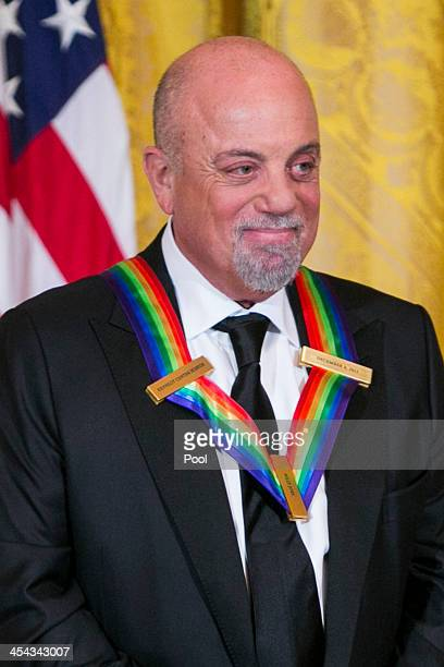 Kennedy Center Honoree Billy Joel attends a reception at the White House for the 2013 Kennedy Center Honorees on December 8 2013 in Washington DC The...