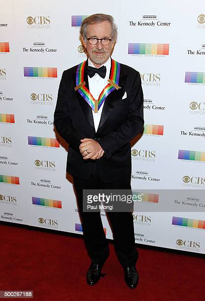 Kennedy Center honoree director Steven Spielberg attends the 38th Annual Kennedy Center Honors Gala at John F Kennedy Center for the Performing Arts...