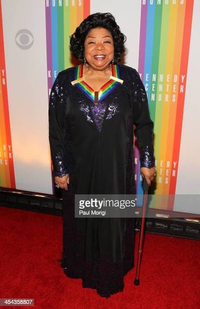 Kennedy Center Honoree Martina Arroyo attends the The 36th Kennedy Center Honors gala at The Kennedy Center on December 8 2013 in Washington DC