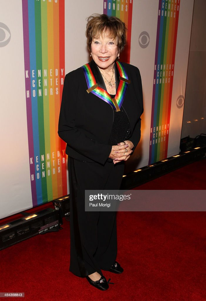 Kennedy Center Honoree Shirley MacLaine attends the The 36th Kennedy Center Honors gala at The Kennedy Center on December 8, 2013 in Washington, DC.