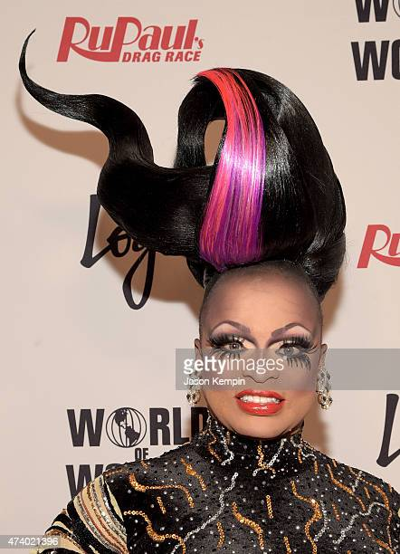 Kennedy Davenport attends RuPaul's Drag Race Reunion/Finale Courtesy Logo / WOW at Orpheum Theatre on May 19 2015 in Los Angeles California