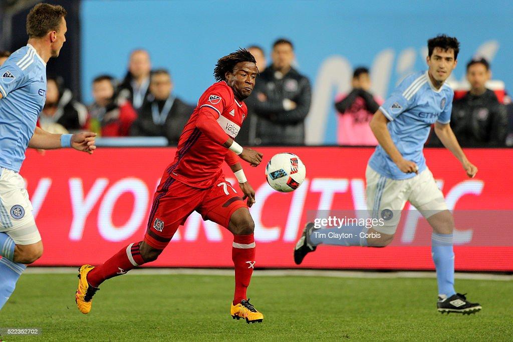 MLS New York City FC Vs Chicago Fire : News Photo