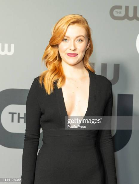 Kennedy McMann attends CW Network Upfront at New York City Center
