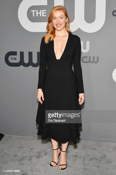 Kennedy McMann attends the 2019 CW Network Upfront at New York City Center on May 16 2019 in New York City