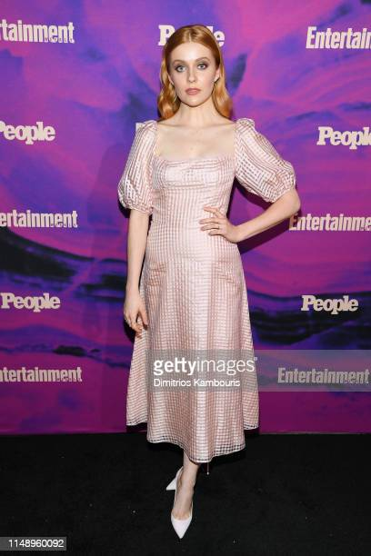 Kennedy McMann attends the Entertainment Weekly PEOPLE New York Upfronts Party on May 13 2019 in New York City