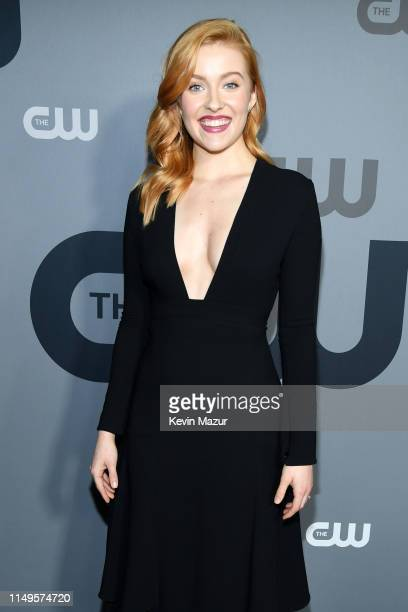 Kennedy McMann attends the The CW Network 2019 Upfronts at New York City Center on May 16 2019 in New York City