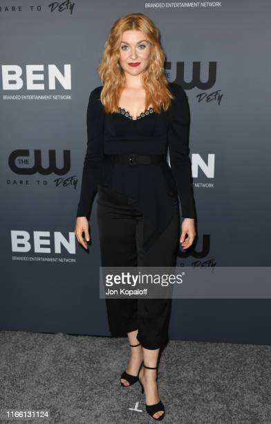 Kennedy McMann attends the The CW's Summer 2019 TCA Party sponsored by Branded Entertainment Network at The Beverly Hilton Hotel on August 04 2019 in...