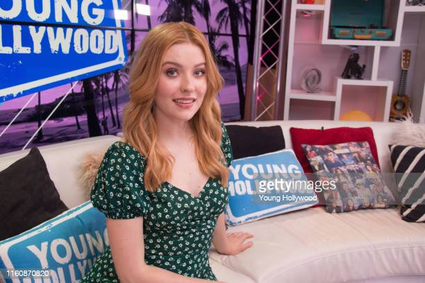 Kennedy McMann visits the Young Hollywood Studio on July 8 2019 in Los Angeles California