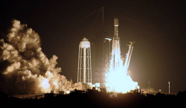 FL: SpaceX Launches Falcon Heavy Rocket In Florida
