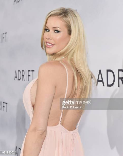 Kennedy Summers arrives at the premiere of STX Films' 'Adrift' at Regal LA Live Stadium 14 on May 23 2018 in Los Angeles California