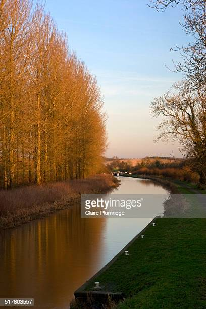 kenneth and avon canal - claire plumridge stock pictures, royalty-free photos & images