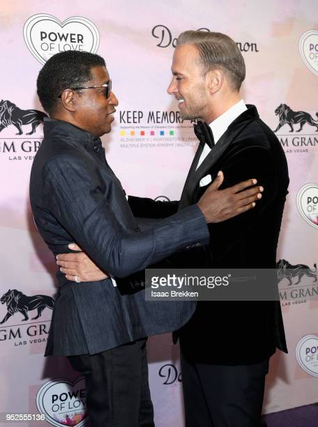 Kenneth Babyface Edmonds and Matt Goss attend the 22nd annual Keep Memory Alive 'Power of Love Gala' benefit for the Cleveland Clinic Lou Ruvo Center...