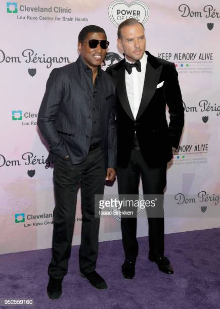 Kenneth 'Babyface' Edmonds and Matt Goss attend the 22nd annual Keep Memory Alive 'Power of Love Gala' benefit for the Cleveland Clinic Lou Ruvo...
