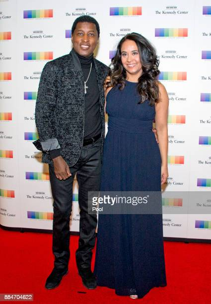 Kenneth 'Babyface' Edmonds and Nicole Edmonds arrive for the formal Artist's Dinner hosted by United States Secretary of State Rex Tillerson in their...