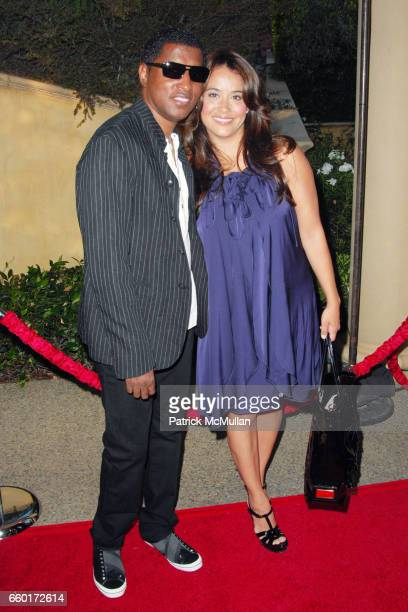 Kenneth Babyface Edmonds and Nicole Pantenburg attend 11th Annual DesignCare Event for The HollyRod Foundation at Private Residence on July 25 2009...
