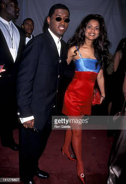 Kenneth 'Babyface' Edmonds and Tracey Edmonds at the 11th Annual Soul Train Music Awards Shrine Auditorium Los Angeles