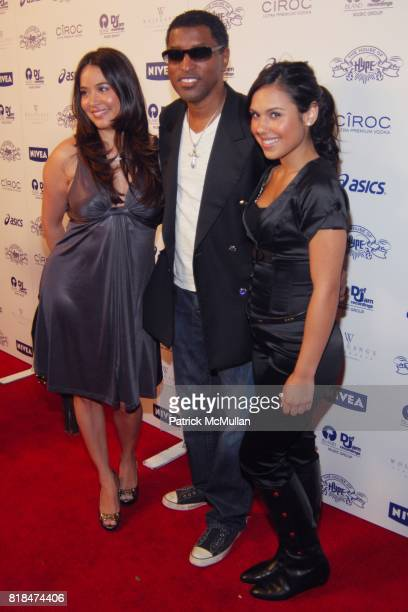 """Kenneth 'Babyface' Edmonds attend Island Def Jam and House of Hype Celebrate Antonio """"LA"""" Reid's Annual Post Grammy Soiree at Wolfgang's Steakhouse..."""