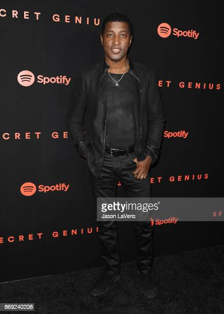 Kenneth 'Babyface' Edmonds attends Spotify's inaugural Secret Genius Awards at Vibiana Cathedral on November 1 2017 in Los Angeles California